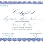Certyfikat Podologia Moja Pasja
