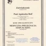 Medyczna Pielegnacja Stop Kurs Specjalistyczny 2013